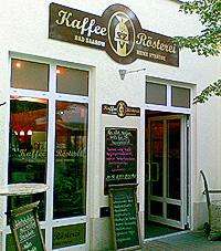 Kaffeerösterei in Bad Saarow